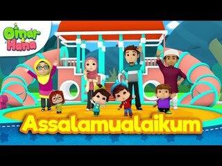 Lagu Kanak-Kanak Islam | Assalamualaikum | Omar & Hana | Diceriakan Oleh Wildan