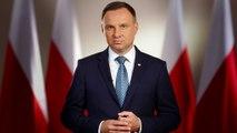 Andrzej Duda w orędziu tłumaczy, czemu nie podpisał ustaw PiS.