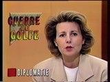 Antenne 2 - 4 février 1991 - Pubs, teasers, JT Nuit (Claire Chazal), météo