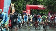 Le départ de la 4e étape du Tour de Wallonie à Bruxelles