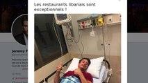 L'humoriste Jérémy Ferrari hospitalisé au Liban