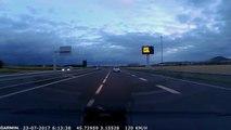 Quand tu croises un chauffard à contre-sens sur l'autoroute... Terrifiant