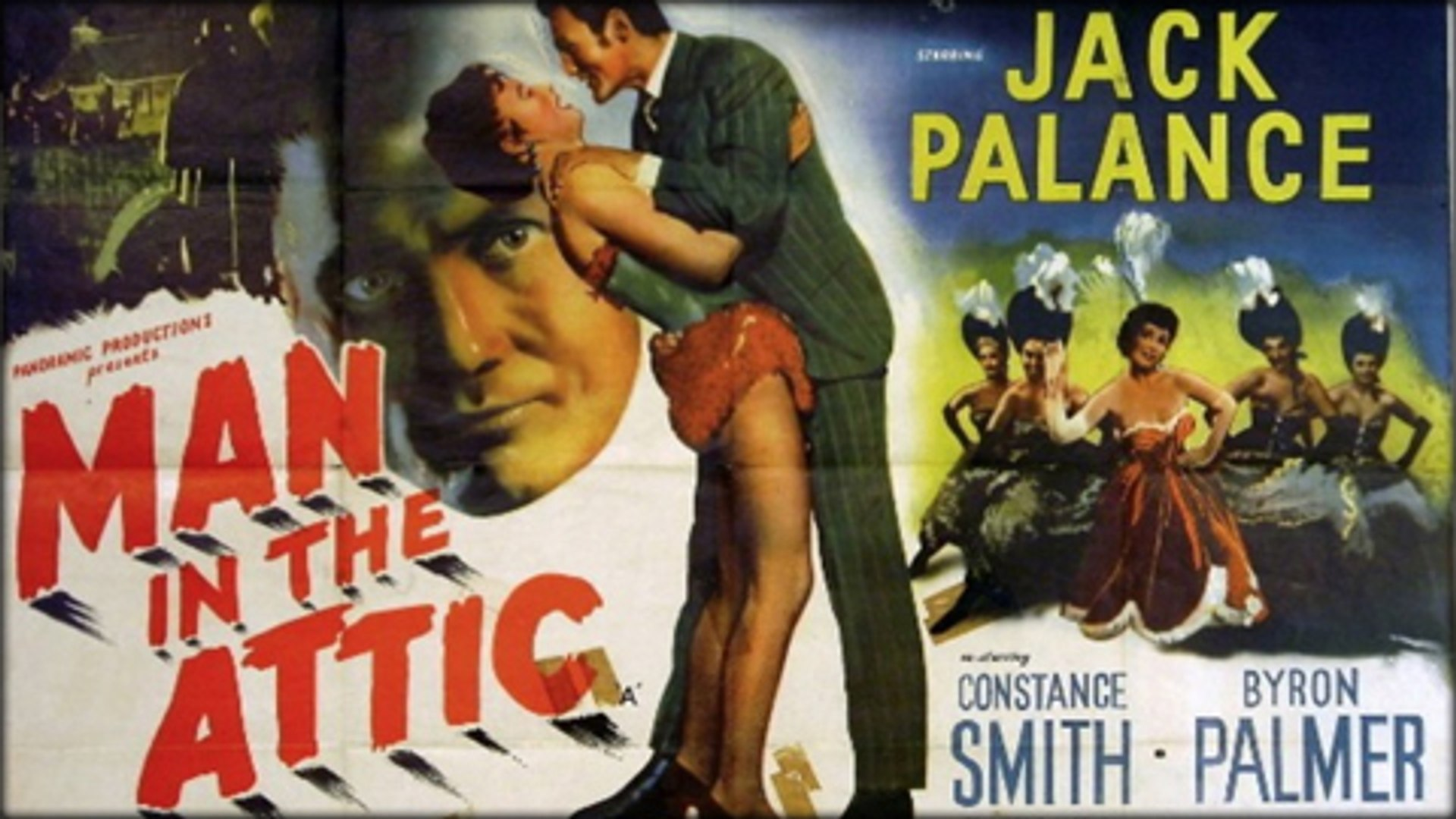 Man in the Attic (1953) - Jack Palance, Constance Smith, Byron Palmer -  Feature (Film-Noir, Mystery, Thriller)