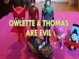 OWLETTE & THOMAS & FRIENDS ARE EVIL THE FLASH GREEN ARROW LIGHTENING MCQUEEN SKYE PJ MASKS PAW PATROL Toys BABY Videos,