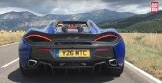 VÍDEO: Así acelera y suena el McLaren 570S Spider. ¡Sube los altavoces!