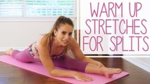 Warm-Up for Splits with Nico | Core Workout, Stretches, Flexibility for Dance, Gymnastics, Cheer