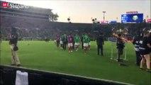 Los fanáticos mexicanos del fútbol demuestran que no saben asumir derrotas