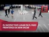 Detienen a sujeto por atacar a policías en frontera entre España y Marruecos
