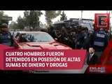 Detalles de las detenciones tras operativos de seguridad en Tláhuac