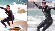 Katrina Kaif Goes Surfing In Morocco