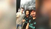 Benzema et Marcelo s'ambiancent sur du Tupac !