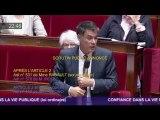 O.Faure défend l'amendement du groupe Nouvelle Gauche contre l'influence des lobbies