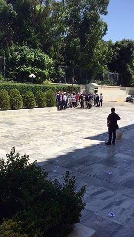 Εισβολή του Ρουβίκωνα στο προαύλιο της Βουλής 26/7/2017
