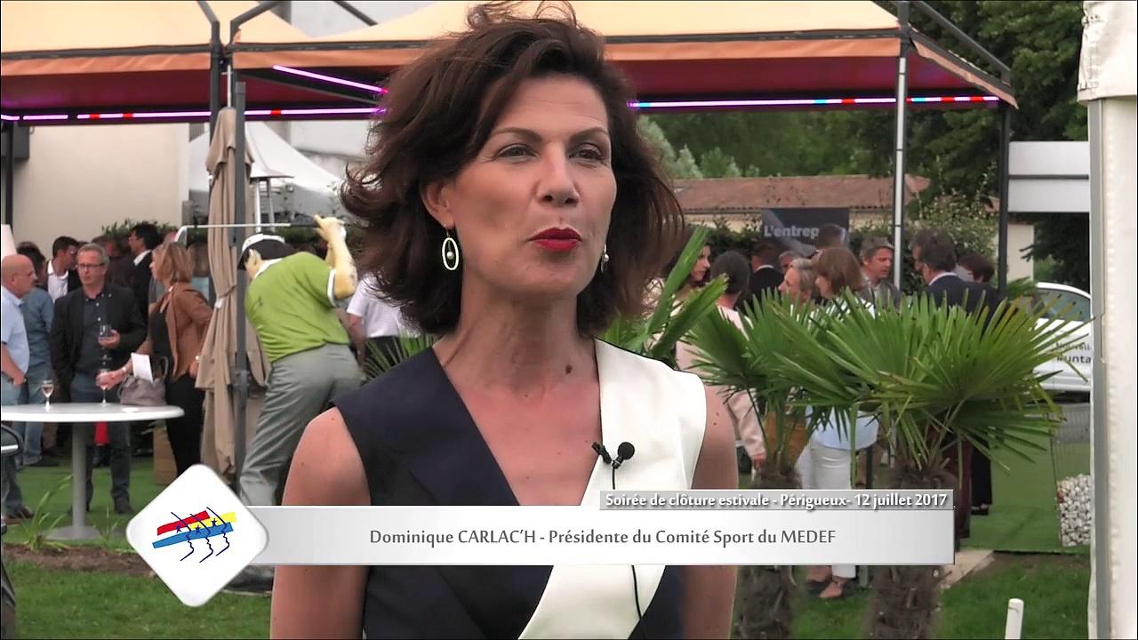 Soirée de Clôture Estivale - MEDEF Périgord 12/07/2017