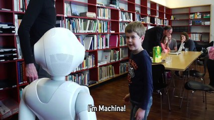 Austrian scientists test how kids react to a new robot