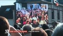 Attentat à Saint-Étienne-du-Rouvray : les habitants rendent hommage