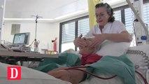 Des soins esthétiques prodigués pendant la dialyse
