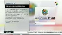 Gobierno venezolano denuncia 105 agresiones de EE.UU. en su contra