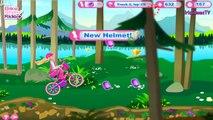 Vélo bicyclette pour Jeu des jeux filles balade Barbie stylin barbie