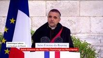 Saint-Etienne-du-Rouvray : l'archevêque de Rouen profite de l'hommage au père Hamel pour critiquer l'avortement et le suicide