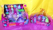 ANNA CUTS POPPYS HAIR OFF Trolls Poppy Style Station Makeover Toys Review TROLL TOY HAIRC