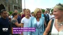Brigitte Macron toujours auprès des people à l'Élysée