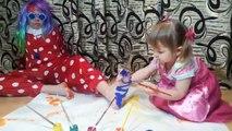 Y bebés Niños color colores familia pies dedo para Aprender enfermera canción niños pequeños con |