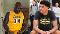 "Shaq SHADES Lonzo & LaVar Ball in Laker Jersey: ""I'm the ORIGINAL Big Baller"""