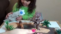 Nouveau cascade Ensemble larmoiement trou et content mignonne animaux jouets bricolage Comment à faire