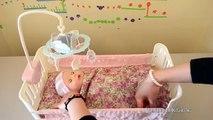 Et bébé lit création poupée berceuse avec Annabell zapf
