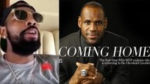 """Kyrie Irving Sings """"I'm Coming Home"""" to TROLL LeBron James"""
