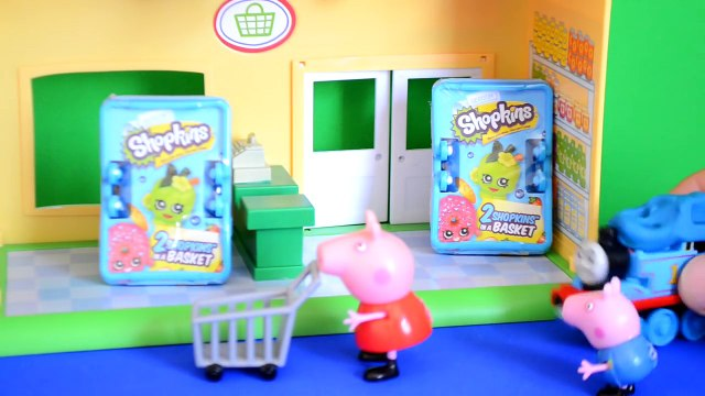 Peppa Pig Episode Shopkins Thomas And Friends Goes shopping Peppa pig Full story 2017