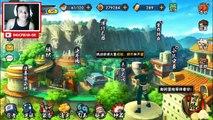 Naruto Mobile : Jogando com a tsunade e jiraya