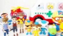 Jouet Explosion damusement dexpérience volcanique pour les dinosaures Krong 101 vidéos expérimentales jouets Pororo merde gelée Anime jouets Pororo animation de personnages danimation sanghwanggeuk