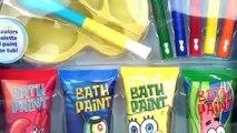 Baño colores lápices de colores Aprender pintar patrulla pata cachorro Bob Esponja esponja con Sin embargo paddlin
