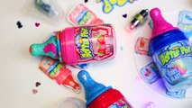 DIY Baby Bottle Pop Lipstick | How To Make Lipstick Out Of Candy | Sweet & Flavored Bottle