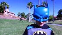 Batman vs Spiderman Crash Power Wheels Mustang Toy and Feber Range Rover with Race Car Com