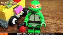 LEGO Ninja Turtles Mikeys Mini Shellraiser 30271 Review