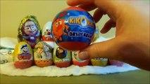 Des œufs et Kinder kinder Transformers surprise, les oiseaux en colère, Masha Medved, Disney