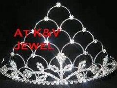 Beautiful Tiaras bridal tiara rhinestone tiara For Wedding