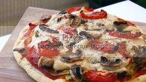 Pizza au faux-mage maison!! Rapide et facile - végétalien- ♡