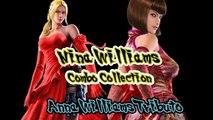 Tekken 7 Nina Williams combo colletion-  'Anna Williams Tribute'