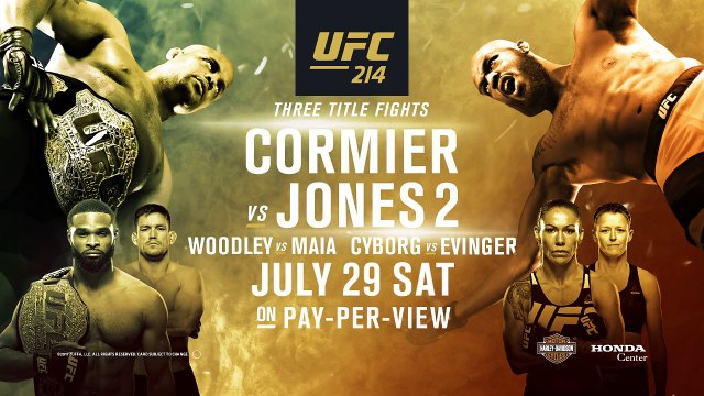 UFC 214 pre-fight conference highlights before Live of UFC 214