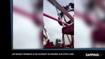 Etats-Unis : Un terrible accident de manège fait un mort, la vidéo choc