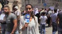 Informe a cámara: Los palestinos mantienen las protestas tras la retirada de los detectores de seguridad