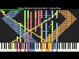 [Black MIDI] Synthesia - Stereo Madness (Geometry Dash) Impossible Remix ~ ArduinoPlays