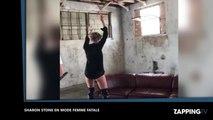 Sharon Stone sexy danse en petite culotte et met le feu à Instagram (Vidéo)
