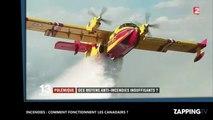 Incendies : comment fonctionnent les Canadairs ? (vidéo)
