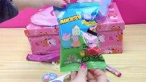 Boîte de escroquerie avec porc et Peppa Peppa oeufs boîte surprise, jouets surprise, jouets Peppa p