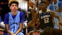 LaMelo Ball & Zion Williamson Go Head-to-Head in EPIC AAU Showdown